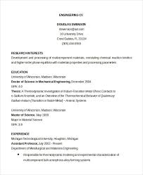 CV Template - 20+ Free Word, PDF Documents Download | Free ...