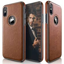 lohasic iphone xs case iphone x case slim thin premium leather luxury pu soft flexible hybrid per anti slip grip scratch resistant protective cover for