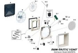 fantastic vent upgrade kit wireless remote 807359 images fantastic vent fan tastic rv supply parts