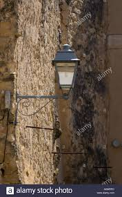 Small Street Light French Style Old Vintage Iron With Glass Street Light In