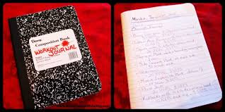 Work Out Journal Workout Journal Challenge Encouraging Souls