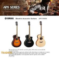 yamaha apx500iii. yamaha electric acoustic guitars apx 500 iii series apx500iii -