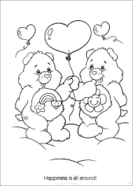 Small Picture Care Bears Coloring Pages 12 Coloring Kids