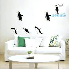 penguin wall decals penguin wall decals lovely penguin art vinyl decal removable wall sticker mural home penguin wall decals