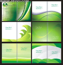 Booklet Template Free Download Inspiration 48 Green Album Cover Background Design Template CorelDRAW CDR File