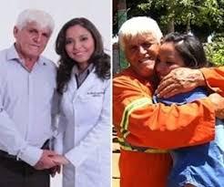 Resultado de imagem para Pai do ano: Gari que criou filha sozinho a forma em medicina