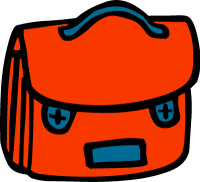 school bag clipart. school bag clip art clipart