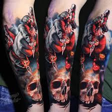 анна крючкова Odin Tattoo Studio