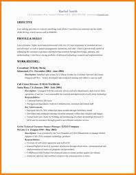 Resume Objective Examples 100 Example Resume Objectives How To Make A Cv 86