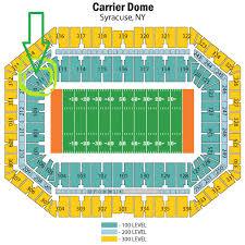 Carrier Dome Basketball Seating Chart Rows The Hullabaloo Huddle A Tulane Football Blog July 2013