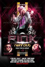 club flyer templates night club flyer best night club flyer template club flyers free