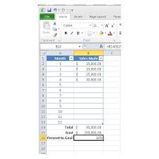 How To Make A Thermometer Goal Chart How To Make A Thermometer Chart In Microsoft Excel 2010