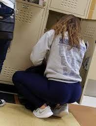 Teens School Ass Candid