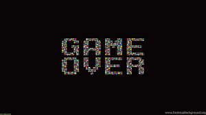 Game Over Text Retro Game Wallpapers HD ...