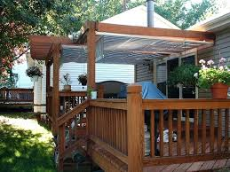 diy deck awning awnings ideas shade canopy winterama in inspirations 4