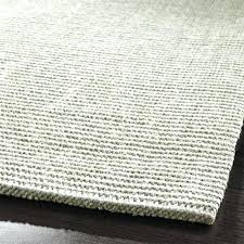 4x6 sisal rug dove grey runner crate and barrel