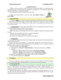 opinion essays writing opinion essays intermediate level 1 carmenlu com opinion essays opinion essays