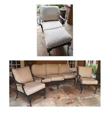 Collection of Smith and Hawken Wrought Iron Patio Furniture EBTH