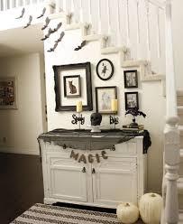 diy halloween decorations home. Isn\u0027t Creepy Black And White Halloween Decor Diy Decorations Home