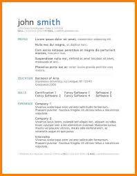 8+ graduate school resume template microsoft word