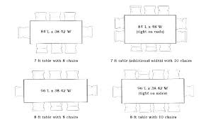 dining es person e dimensions for 8 round 6 size awesome 10 table room length