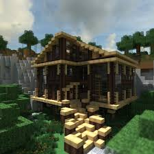 modern houses building that on minecraft