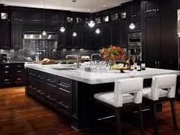 Kitchens, Black Kitchen Cabinets White Appliances: Black Kitchen Cabinets