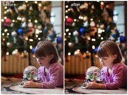 Photographing Christmas Tree Lights How To Photograph Your Child In Front Of The Tree
