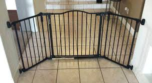 Wide Baby Gates North States Deluxe Extra For Stairs ...