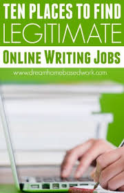 best lance writing legit online jobs for writers images  10 places to legitimate online writing jobs