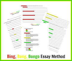 teaching tlc making essay writing fun the bing bang  making essay writing fun the bing bang bongo method