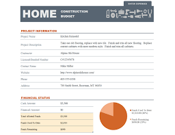 cost spreadsheet for building a house home construction budget office templates