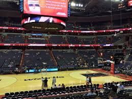 Washington Wizards Basketball Game At The Verizon Center In