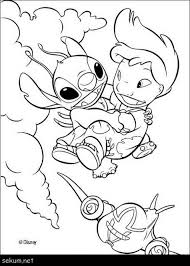 Lilo And Stitch Coloring Page Lilo And Stitch Coloring Pages Free