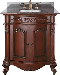 bathroom single vanity cabinets. Avanity Provence (single) 30-Inch Traditional Bathroom Vanity - Antique Cherry Single Cabinets H