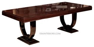 french art deco mahogany dining table modernism gallery within art nouveau dining table plan art deco dining table with arched base contemporary dining art deco dining set
