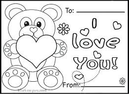 Day Cards To Print Card Coloring Pages To Good Draw Print Unique Kids