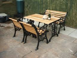 wood and wrought iron furniture. Full Size Of Patio \u0026 Garden:aluminum Vs Iron Furniture Wicker Metal Wood And Wrought A