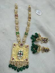 Gold Jadtar Set Design Jadau Necklace Set Design Jewelry Jewellery Necklace