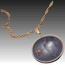 iconic vintage nina ricci lalique crystal dove diamond pendant necklace