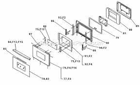 dacor cps227 parts list and diagram ereplacementparts com
