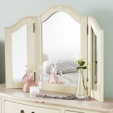Shabby Chic Bedroom Mirror Shabby Chic Champagne Dressing Table Mirror Bedroom Furniture Direct