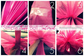 How To Make Tissue Paper Balls Decorations Tissue Paper Pom Poms 94