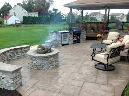 Stamped Concrete Patio Stamped Concrete Patio Mason Stamped Concrete