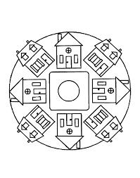 Mandalas A Imprimer Gratuit 4 Mandalas Faciles Pour Enfants