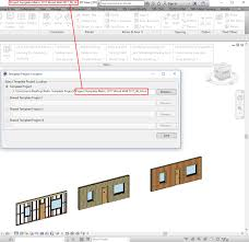 New Feature: Template Projects In Framing Software For Revit – The ...