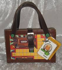 Purse Design Games Upcycled Clue Board Game Purse Novelty Gift Made From