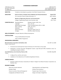 Template Examples Of Resumes Simple Resume Sample Student Format For