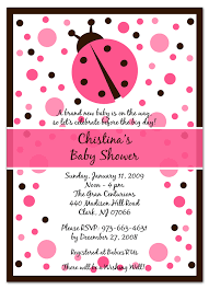 Ladybug Baby Shower  My Practical Baby Shower GuideFree Printable Ladybug Baby Shower Invitations