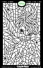 Small Picture Disney Fairies Tinkerbell Mosaic Coloring Page crayolacom